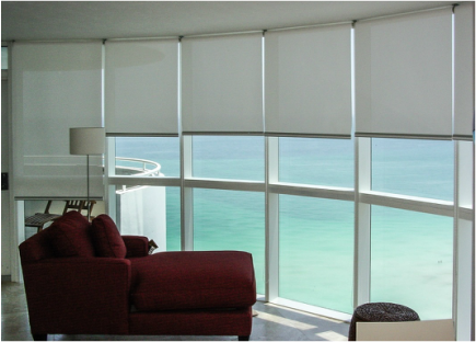 Orlando S Remote Control Roller Shades Florida Blinds